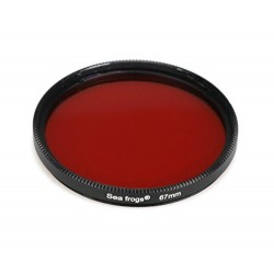 Seafrogs filtro rojo 67mm